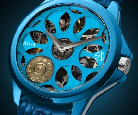 ArtyA Son Of A Gun Russian Roulette 'Blue Blood' High Quality Replica Luxury Watch