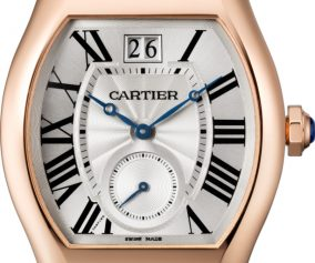 High Quality Fake Cartier Tortue Small Seconds Brown Leather Watches Sell In UK