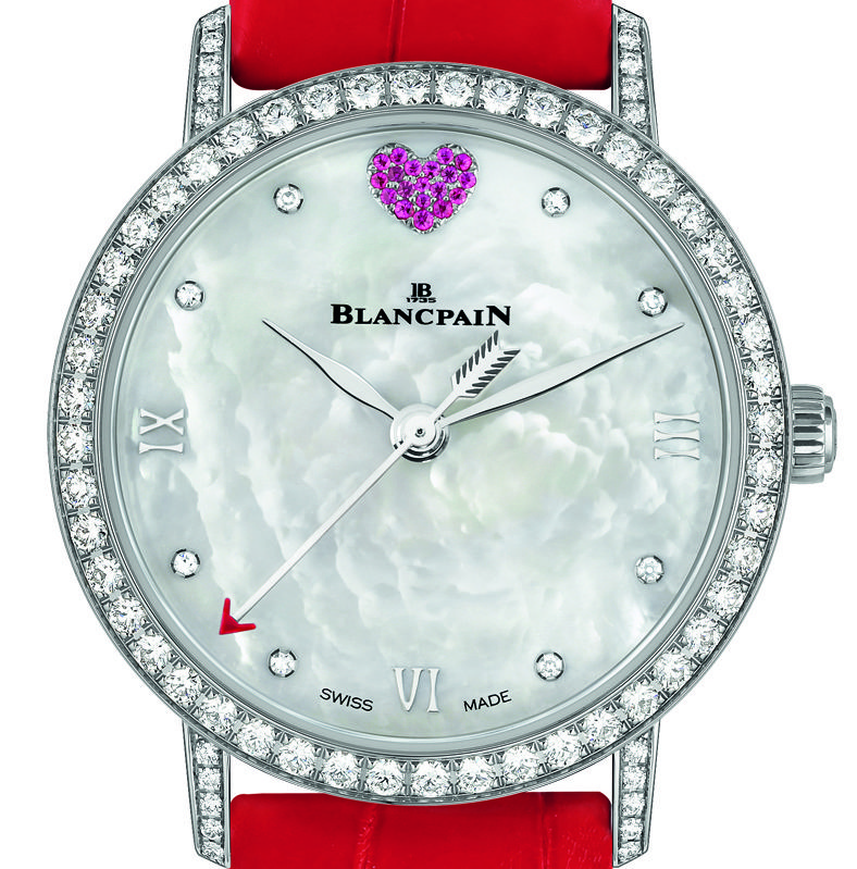 Copy Blancpain St. Valentine's Day Special Edition Watch For The Ladies In Your Life