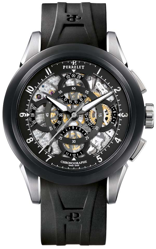 Perrelet Skeleton Chronograph Watch Watch Releases