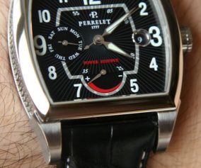 Perrelet A1021/3 Day Date Power Reserve Cushion Watch Review Wrist Time Reviews